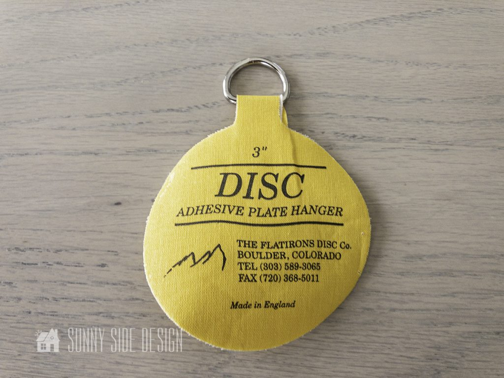 adhesive plate hanger