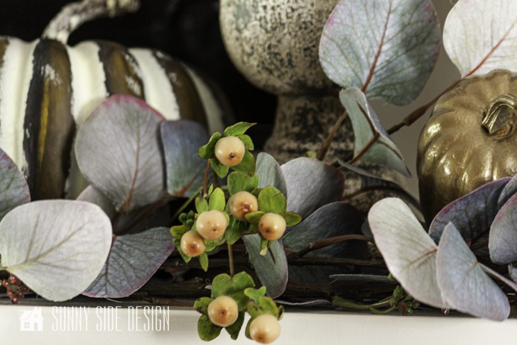 Ideas for fall decorating with natural elements.