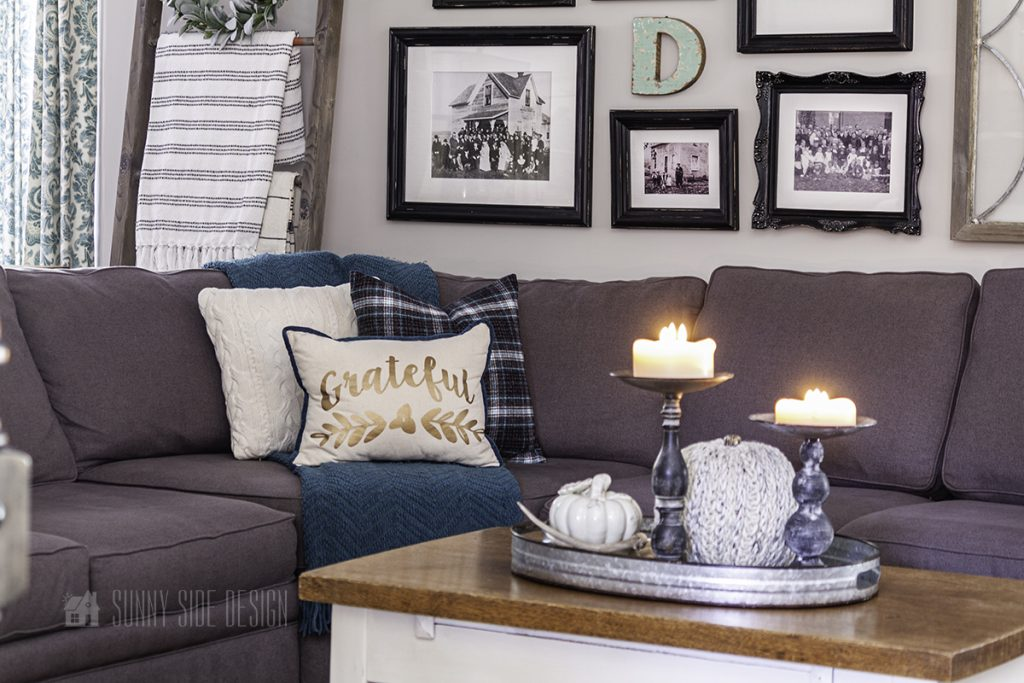 Soft and cozy Fall Decorating