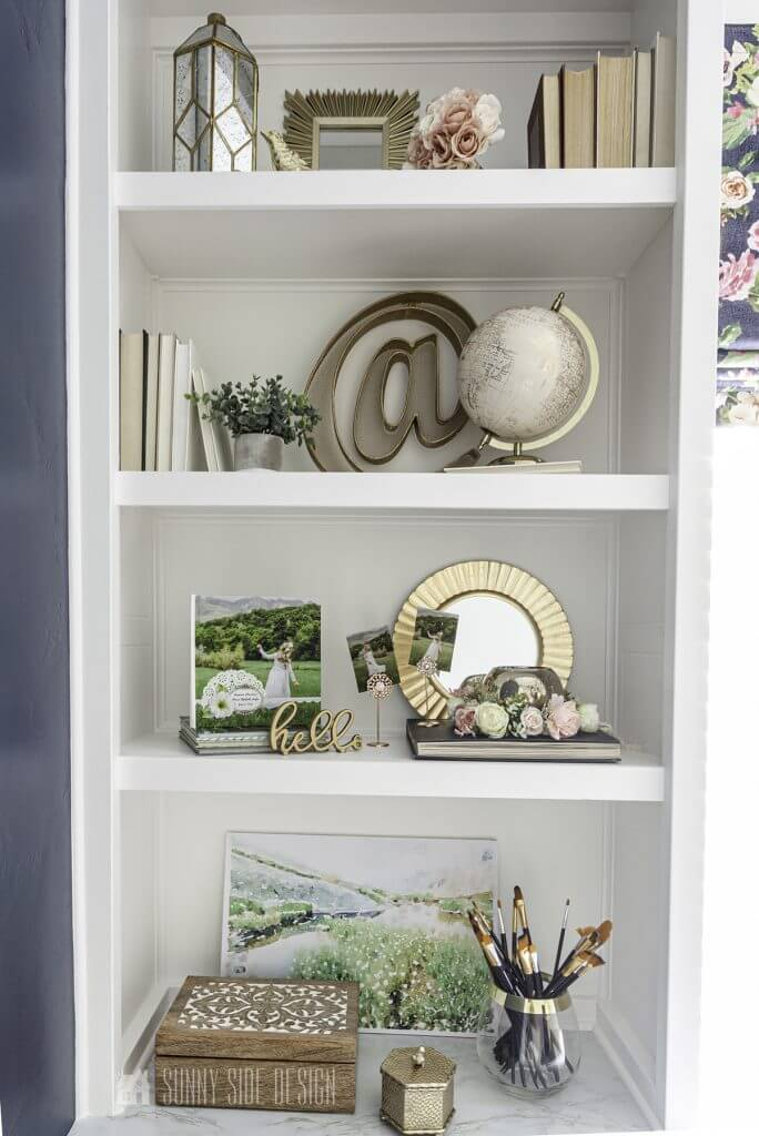 Shelf Decorating Idea