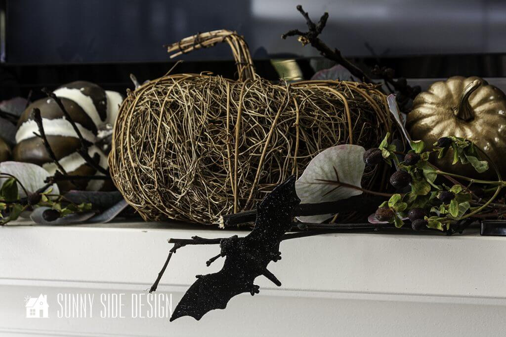 Halloween Decorating with Bats