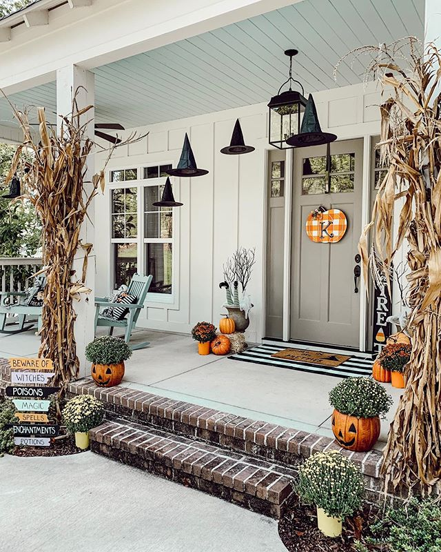 Ideas for Halloween Decor for the Front Porch