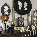 How To Make Halloween Decor   Skeleton Silhouettes