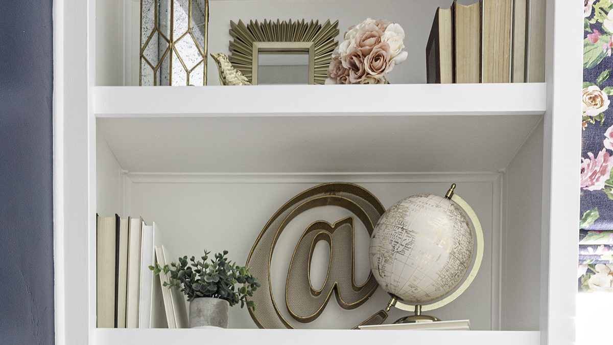Shelf Decorating Ideas | A Step by Step Guide