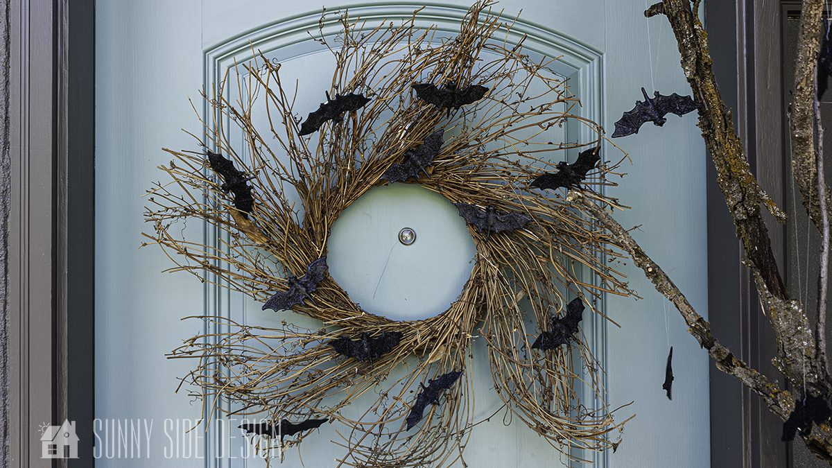 Halloween Wreath | Easy and Cheap DIY