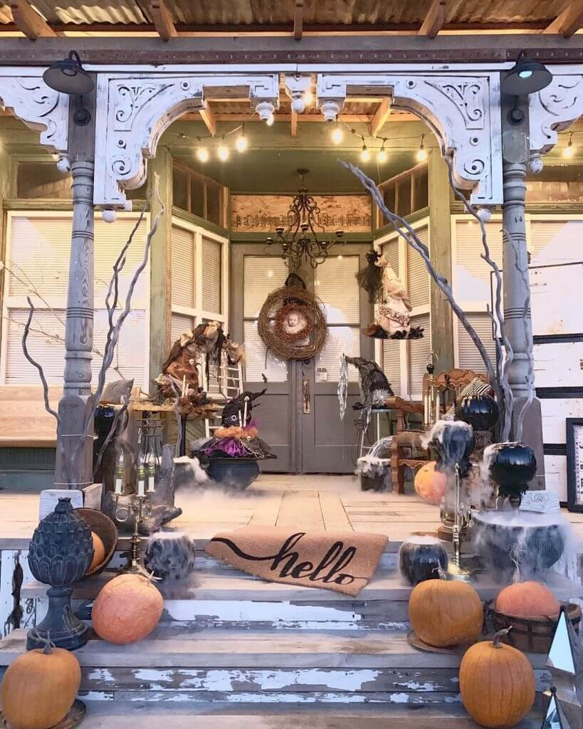 Ideas for a Halloween Front Porch