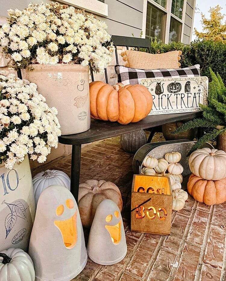 Ideas for Porch for Halloween