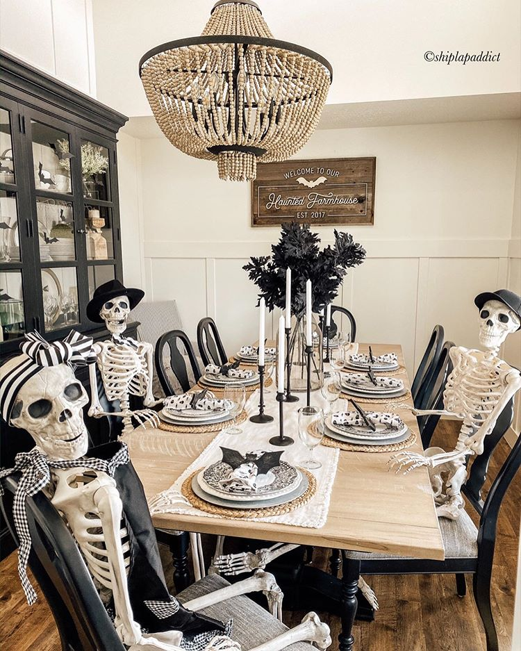 Ideas for Halloween Decor in the Dining Room
