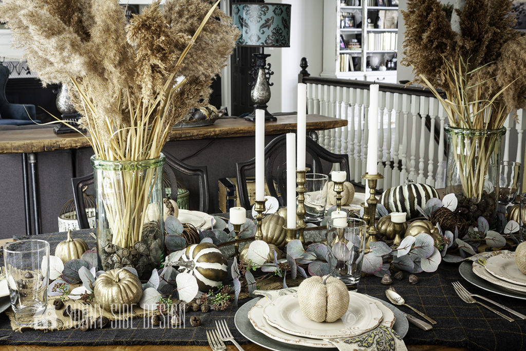 Natural Elements and Inherent Beauty to the Thanksgiving Table