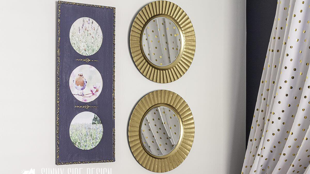 Diy Mirror Frame Quick And Easy Idea Sunny Side Design