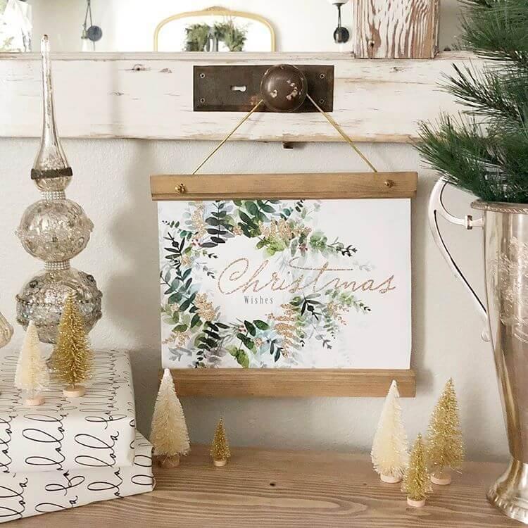 Homemade Christmas Gift Idea for the Home