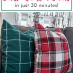 EASY PILLOW COVER TUTORIAL YOU'LL LOVE