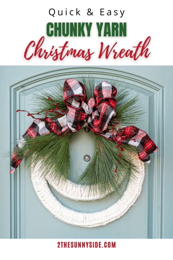 How To Make A Christmas Wreath That S Cozy Inviting