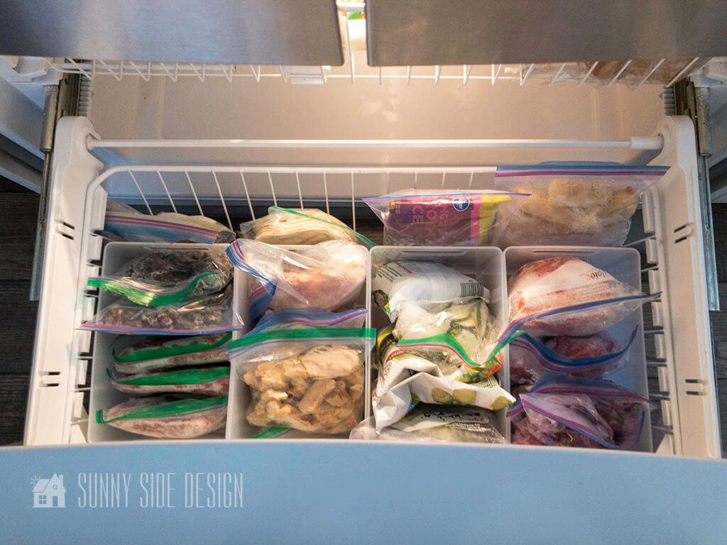 Freezer Organization Ideas