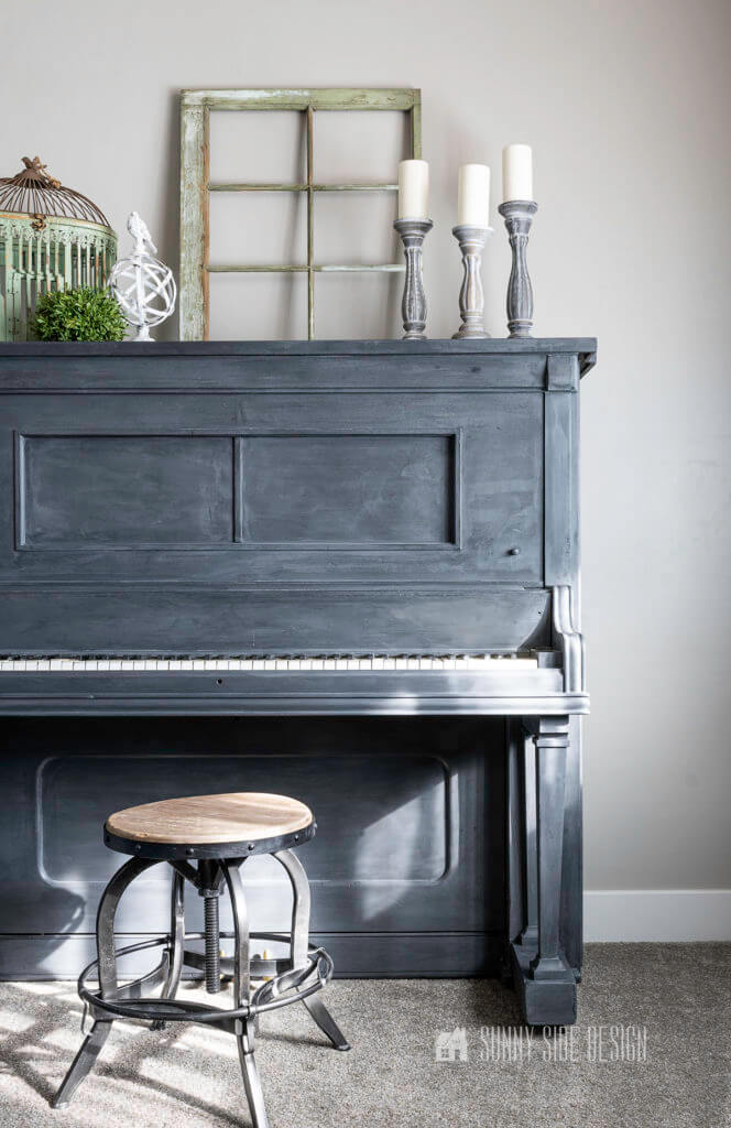 Before and After Piano Makeover