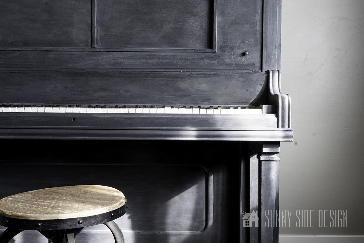 Amazing Before and After Heirloom Piano Makeover