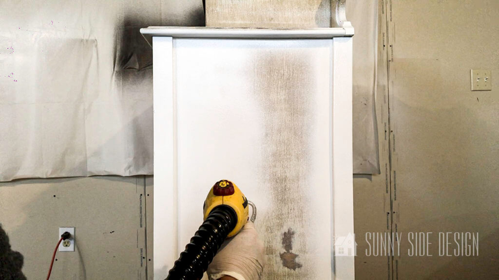 Painting Furniture with a Spray Gun