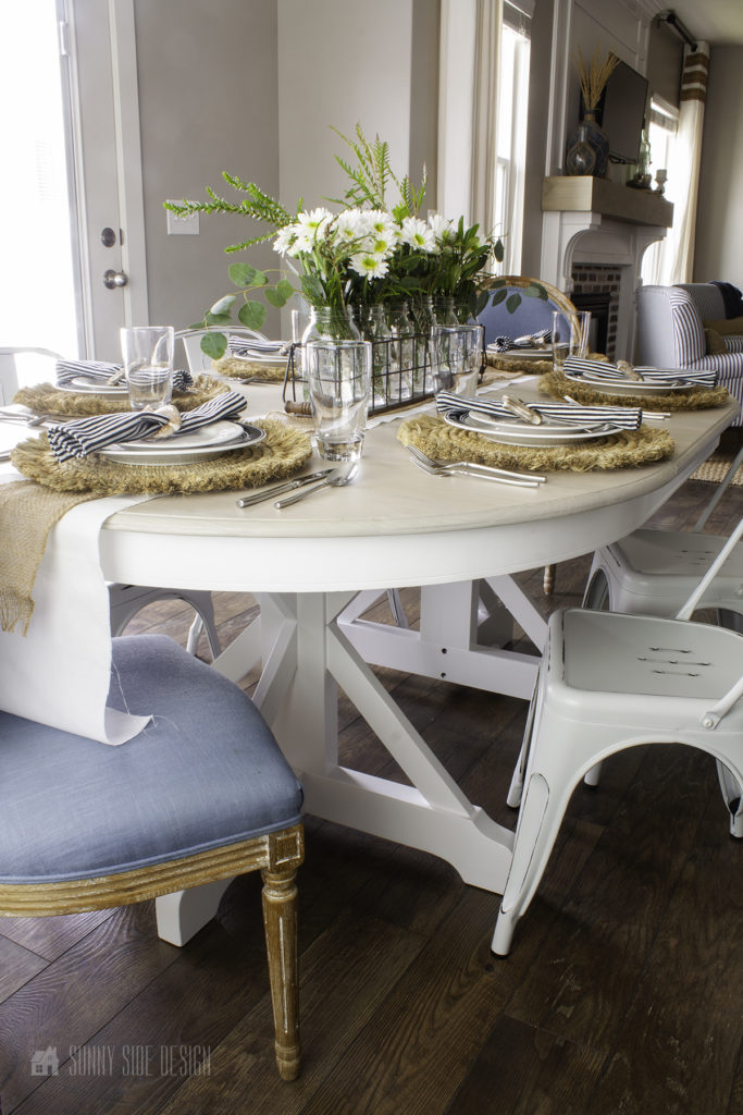 paint a dining table