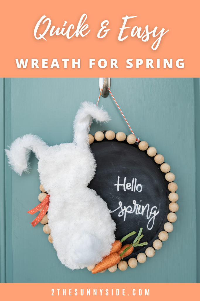 Dollar Tree DIY | Spring Wreath