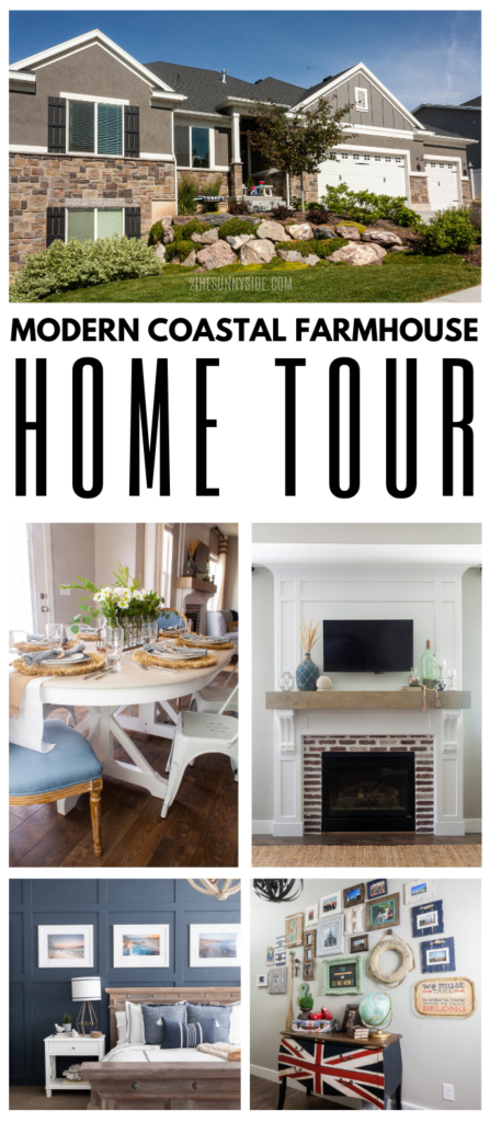 modern coastal farmhouse home tour