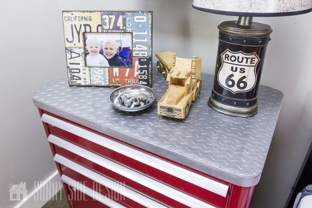 tool chest dresser car themed bedroom