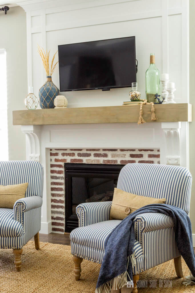 DIY fireplace upgrade