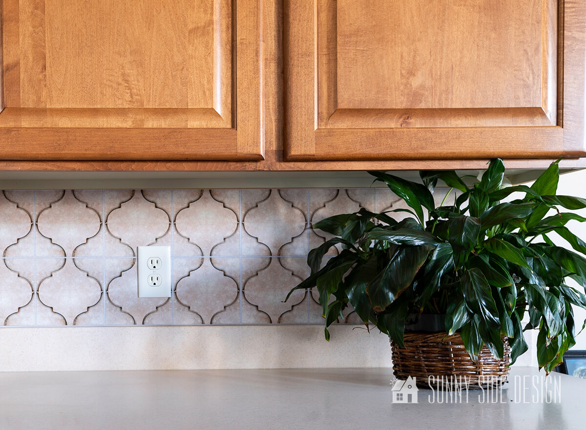 How to Install an Inexpensive Peel and Stick Backsplash Easily