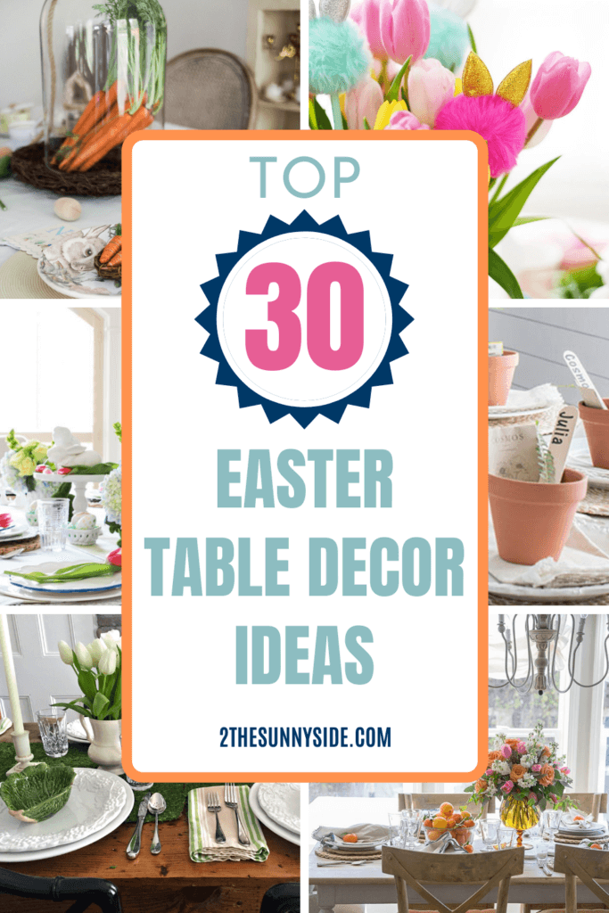 TOP 30 Easter table decor ideas for 2021