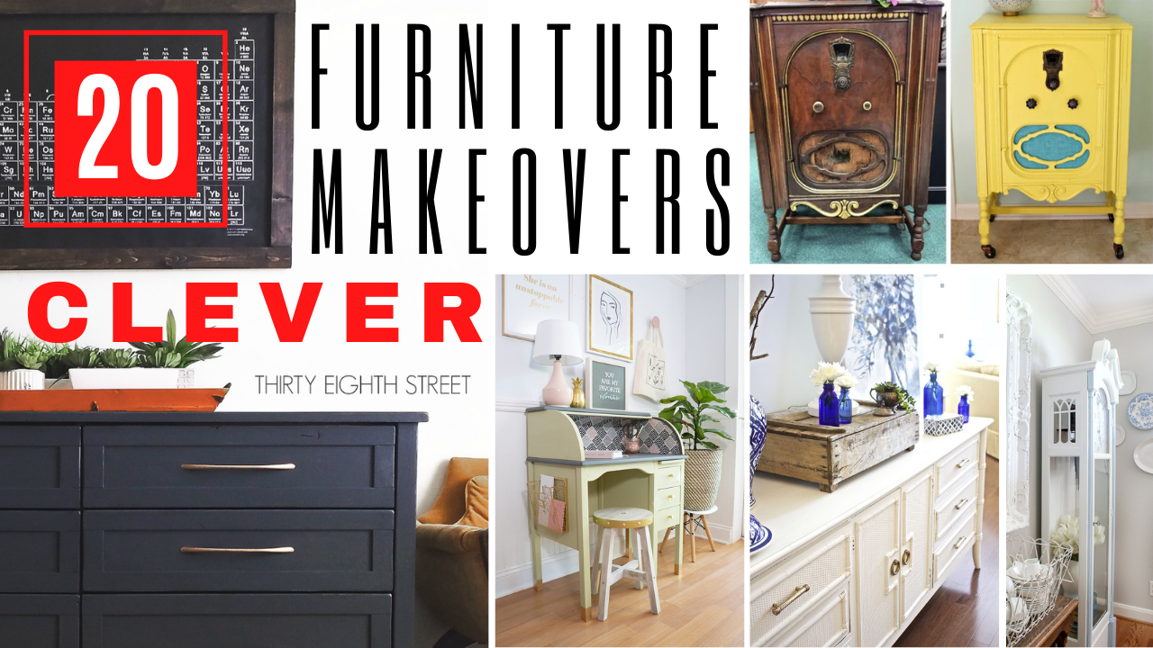 Repurposed Furniture: 20 Surprisingly Clever Ideas You Have To See
