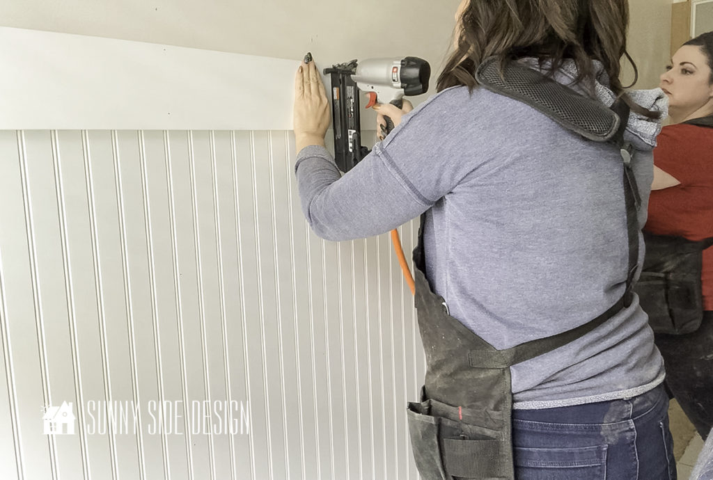 Beautiful Beadboard Paneling That's Surprisingly Easy
