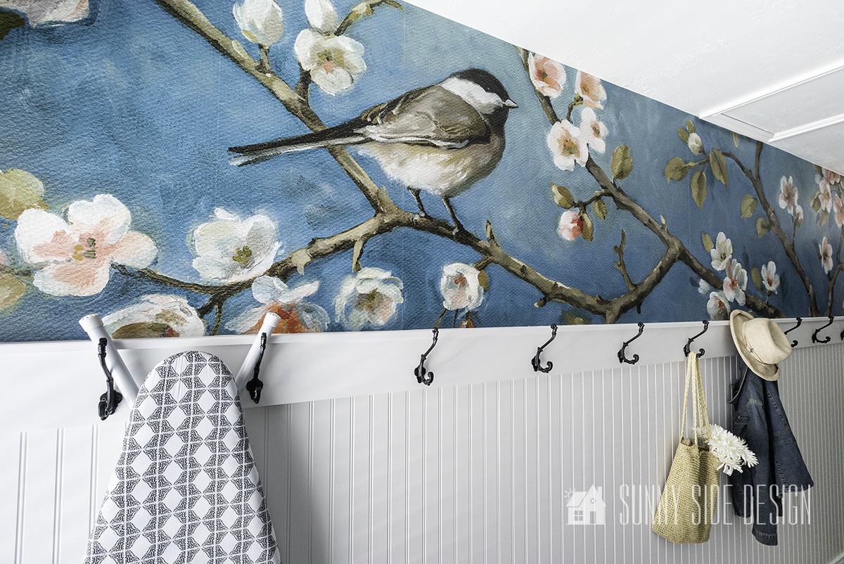 How to Install a Killer Wallpaper Accent Wall