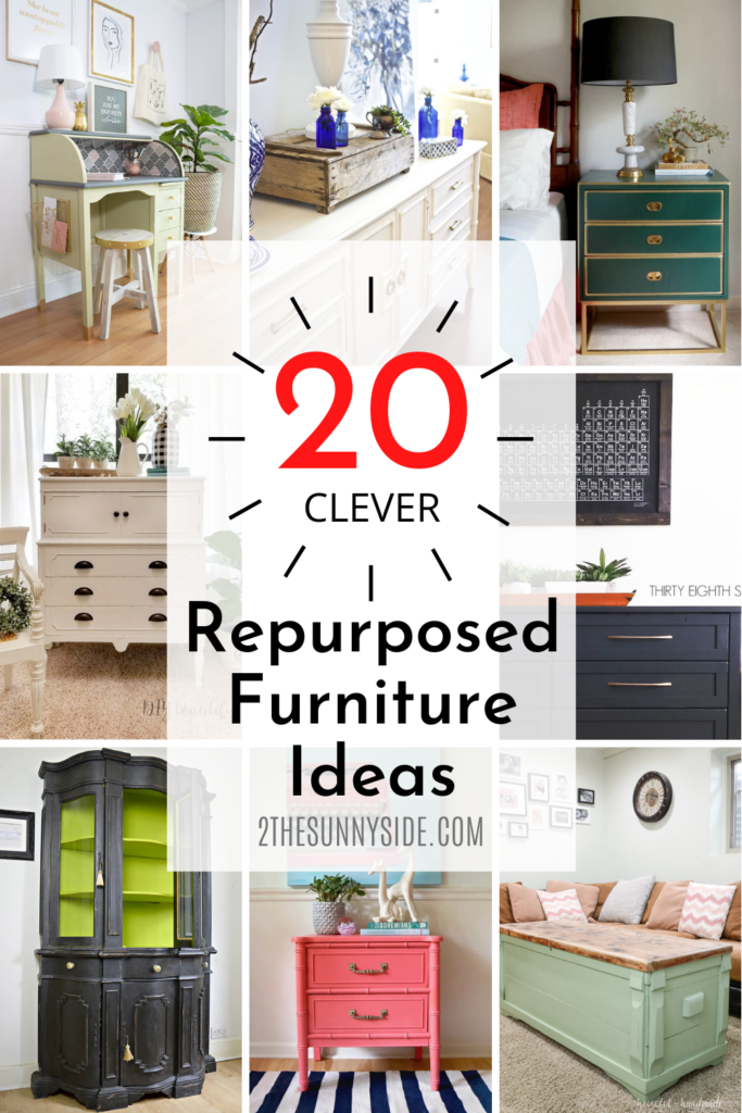 20 clever ways to refinish furniture