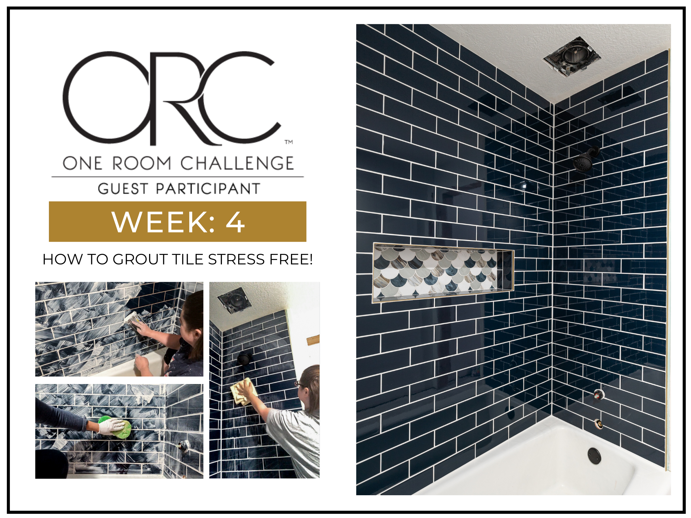 How To Grout Tile Stress Free | What You Need To Know