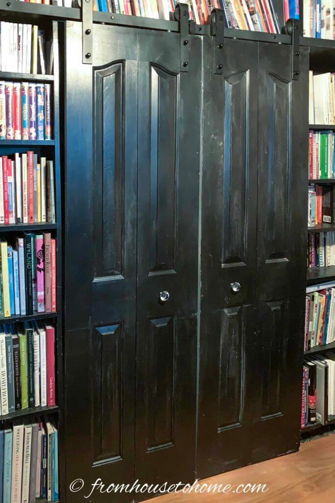 Salvaged Barn Door