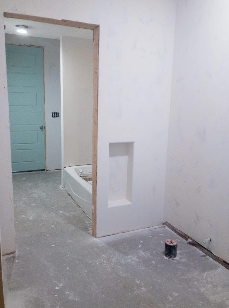 behind the scenes of this modern bathroom reveal