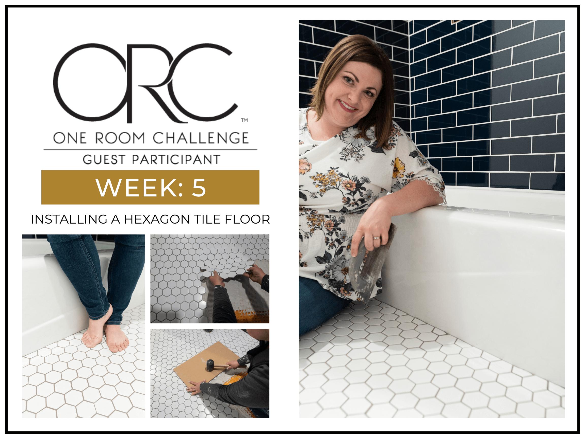 How To Install a Hexagon Bathroom Floor Tile a Beginner's Guide