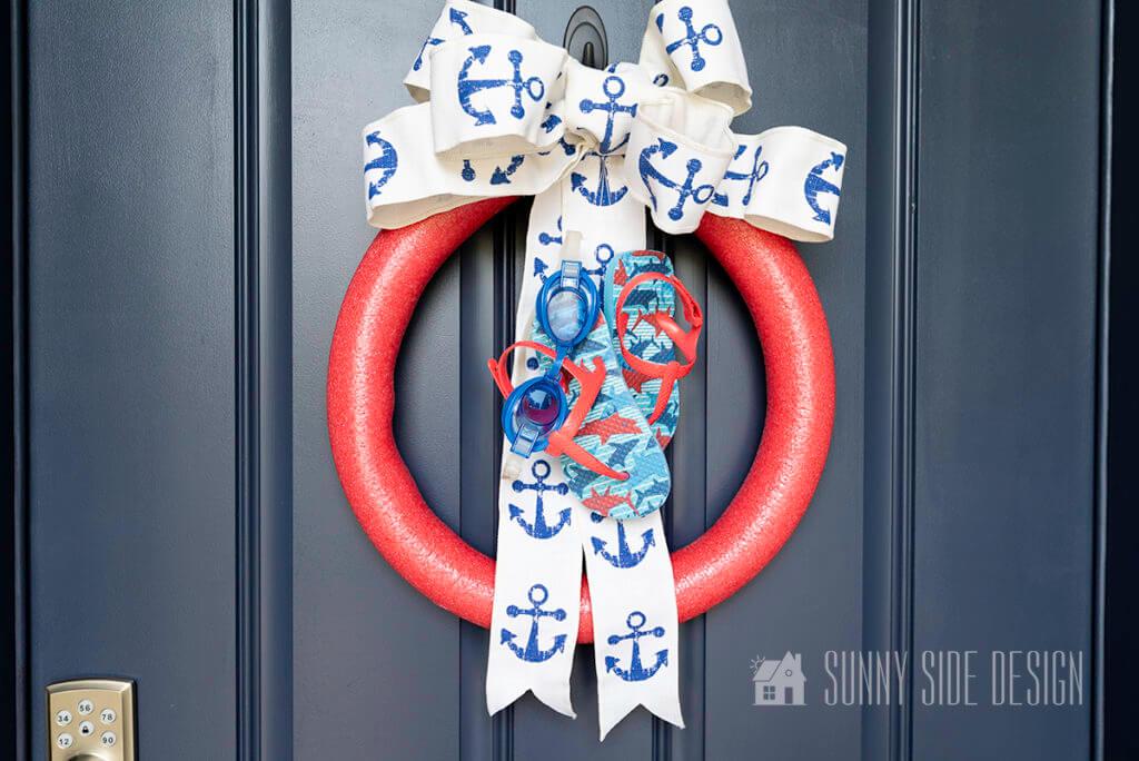 Summer Wreath for Front Door