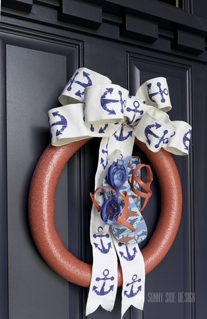 How to Make a Playful Summer Wreath for Your Front Door