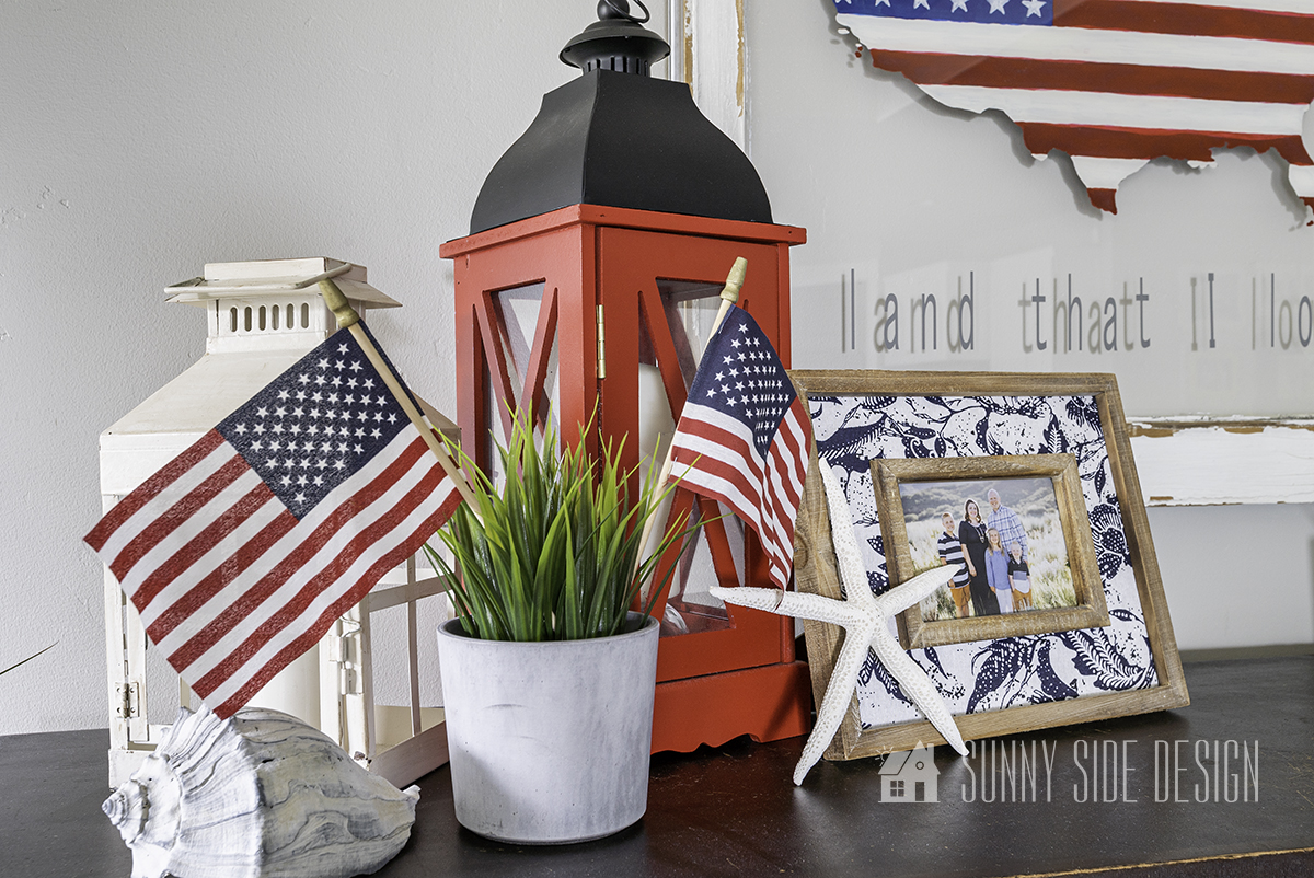 Simple & Inexpensive July 4th Decor for Your Home