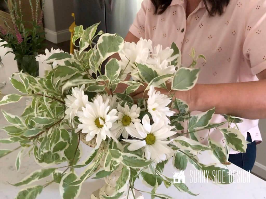 DIY Flower Arrangement from Your Garden
