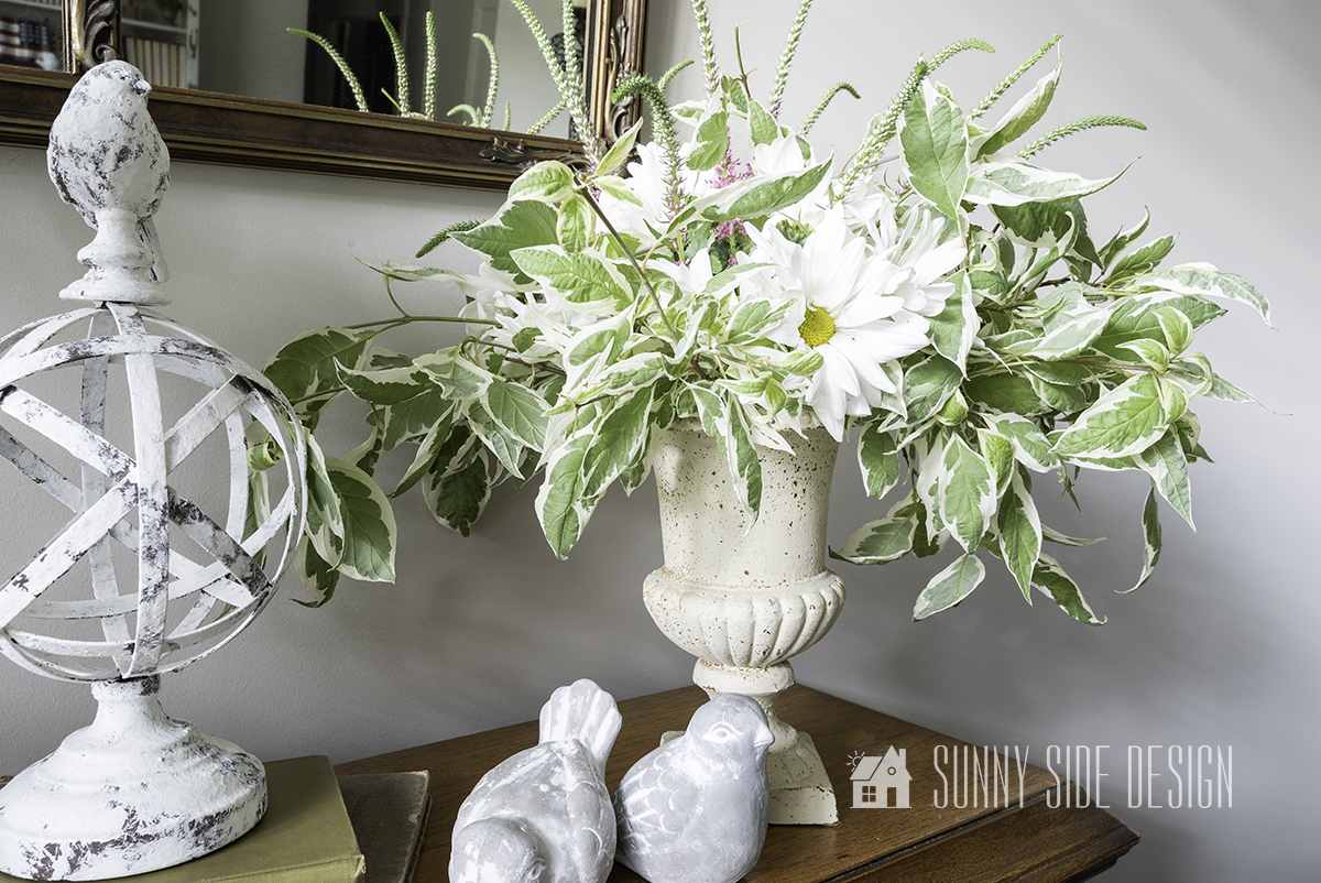 Easily Add Beauty to Your Home with a DIY Flower Arrangement