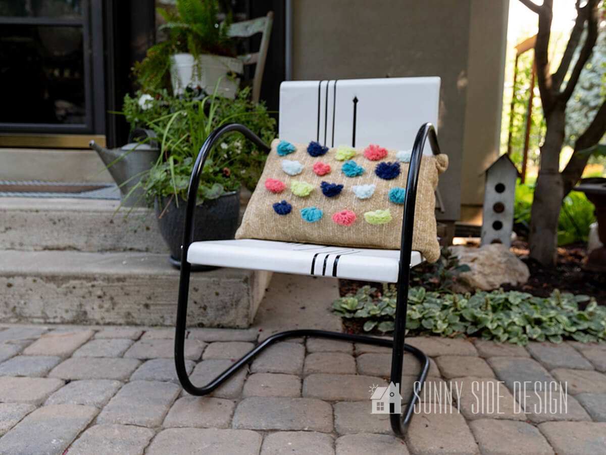How to Fix Old Rusty Metal Furniture & Make It Stunning