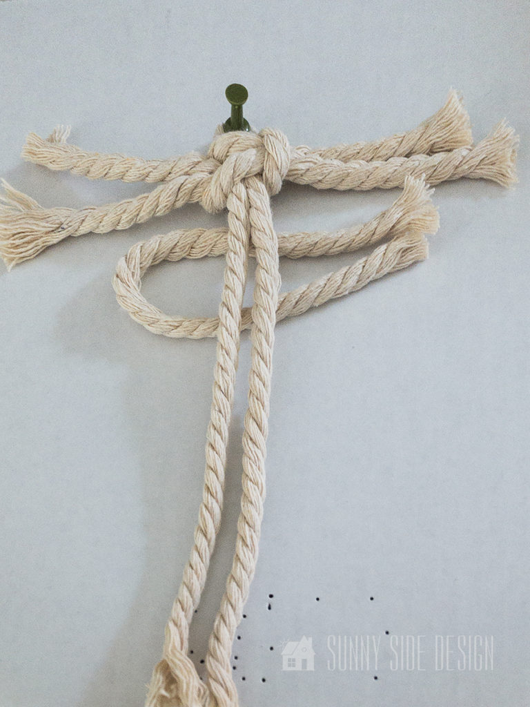 macrame square knots