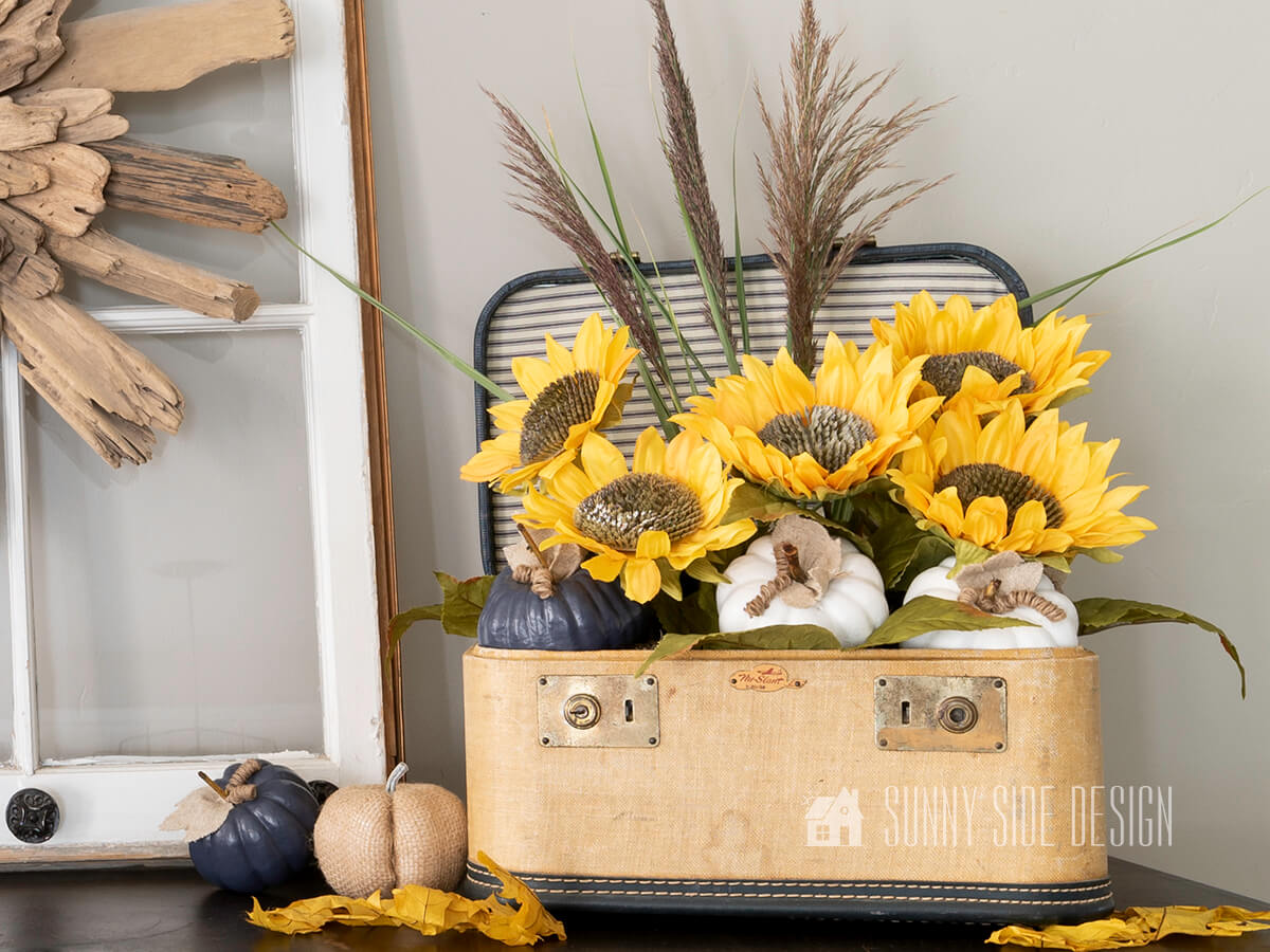 How to Make a Simple Sunflower Arrangement