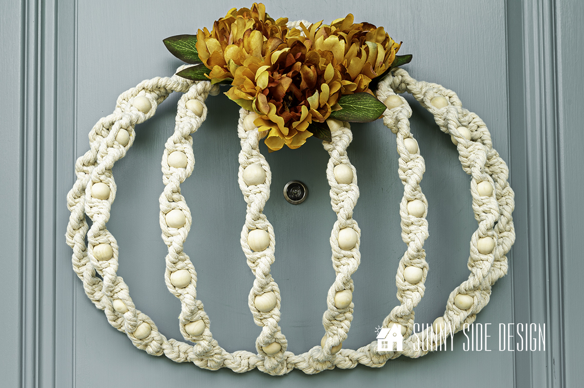 Easy DIY Fall Macrame Wreath You Need To Try